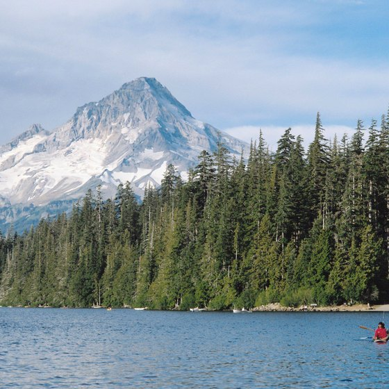 The unspoiled wilderness around Mount Hood is easy to get to from Portland.