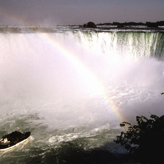 Hotels near the falls provide breathtaking, up-close views.