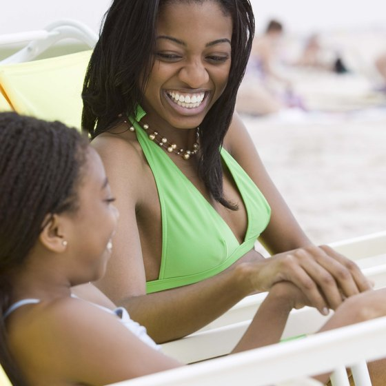 August can be a busy time on many beaches, so plan well in advance.