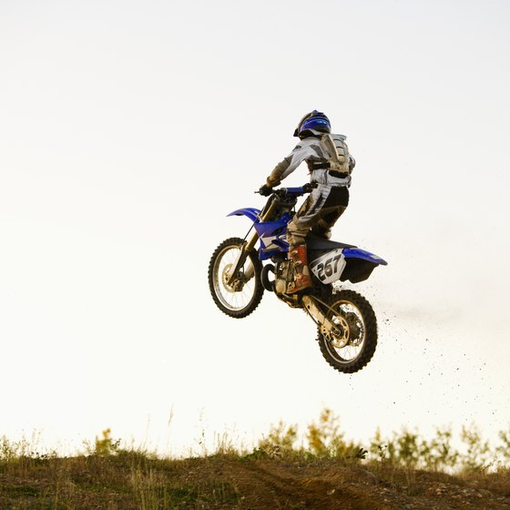 Maine dirt bike riders have access to government and privately owned dirt bike parks.