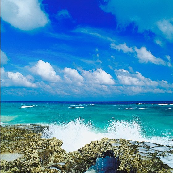 Cozumel is one popular port of call for cruise ships.