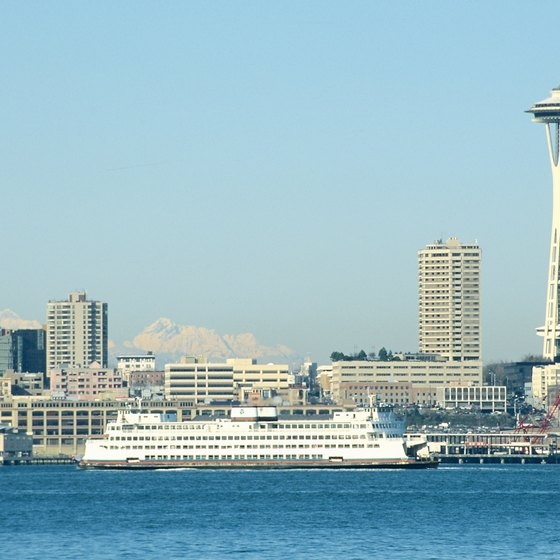 Cruise ships arrive into Seattle at Piers 66 and 91.
