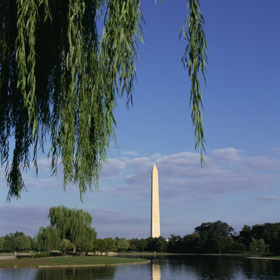 The Washington Monument is the oldest presidential memorial in Washington, D.C.