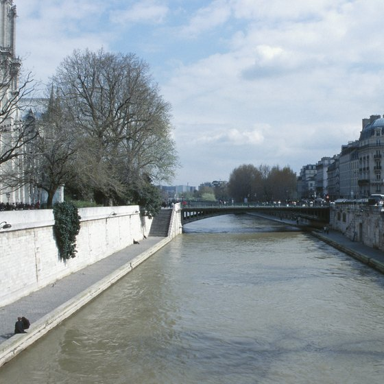 Select Parisian excursions allow guests to cruise the Seine.