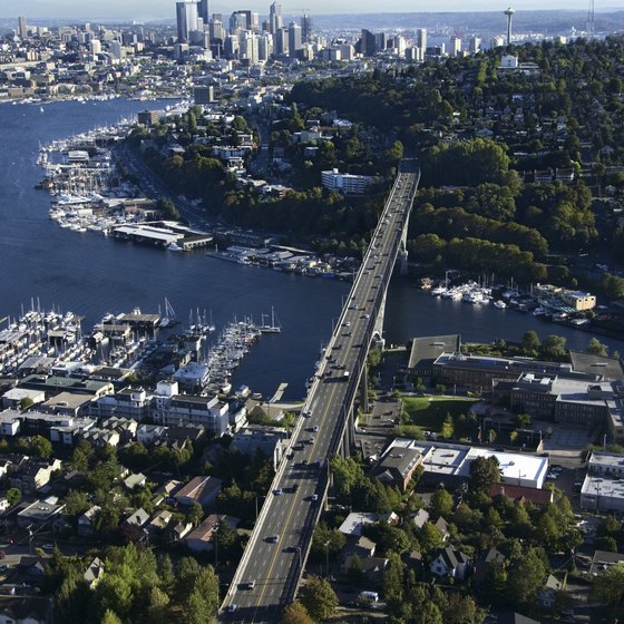 Seattle is a city of abundant waterways and lots of recreation opportunities.