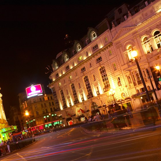 Most of London's tourist attractions are concentrated within a few miles of Marble Arch.