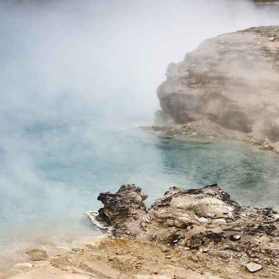 Hiking in California's wilderness can lead to some of the state's few, remarkable hot springs.