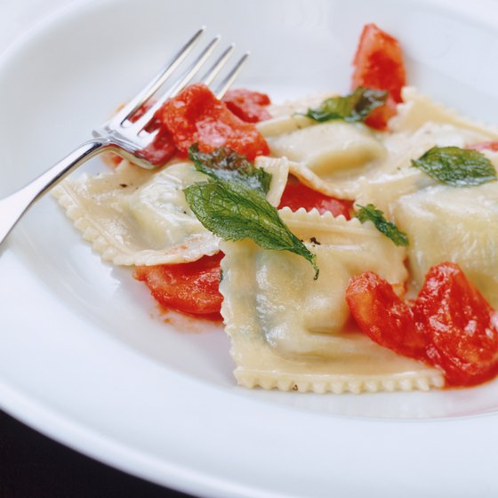 Dine at one of Tariffville's restaurants to feast on traditional Italian dishes.