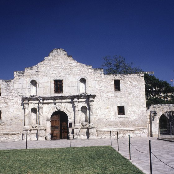 The Alamo is a recognizable symbol of Texas.