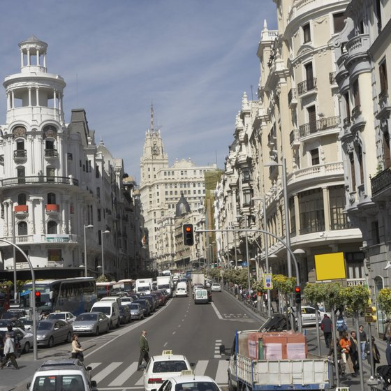 Driving in Madrid