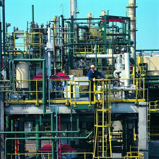 Oil refineries are enduring images of Texas' most famous natural resource.