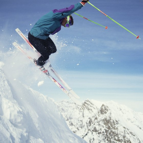 Enjoy the powder on a ski trip through Utah.