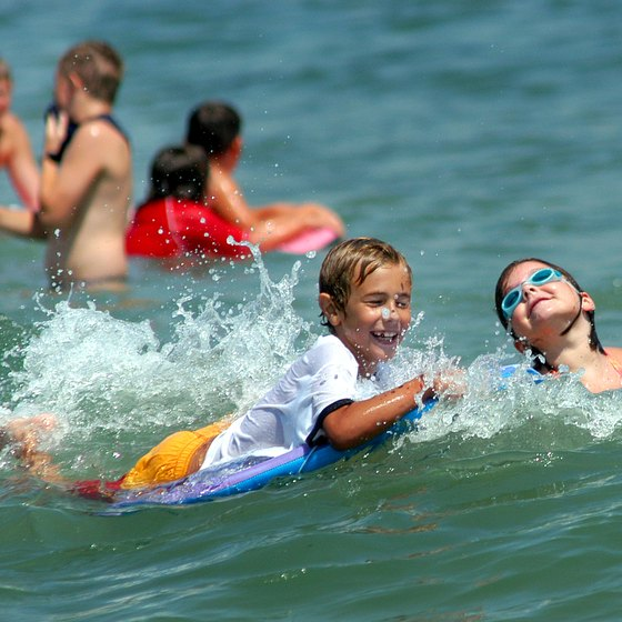 Delaware families can choose active weekends along the New Jersey shore.