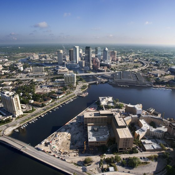 Big hotels rule in tourist-friendly Tampa, but smaller gems can be found.