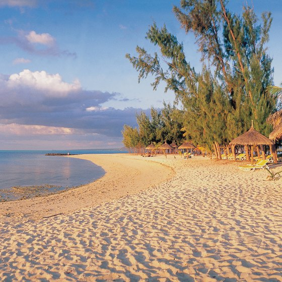 Lively nightlife and tropical beaches draw visitors to Mauritius Island.
