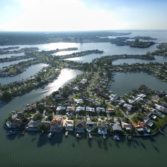 On Florida's Gulf coast, Treasure Island is best-known for its waterfront.