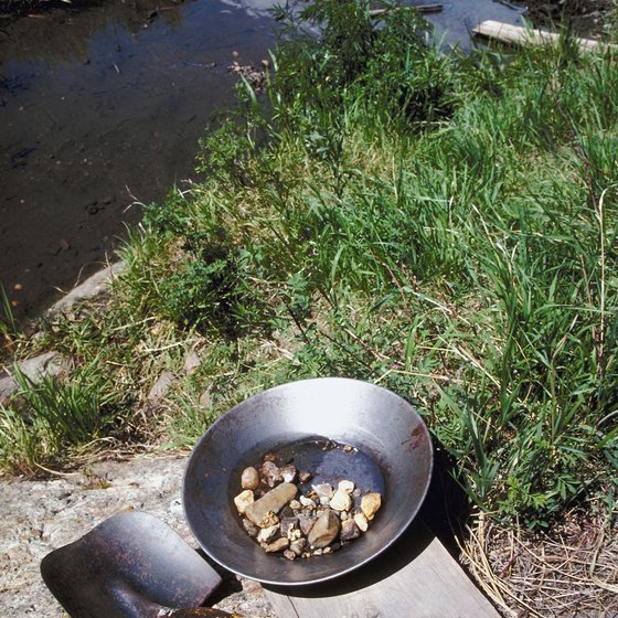 Gold panning can make for an interesting and exciting family day out.