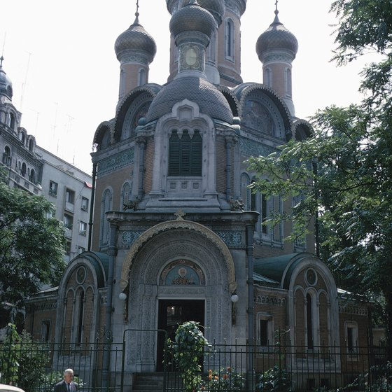 The capitals of Bucharest and Sofia boast historic architecture.