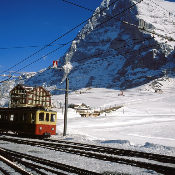 The majestic Swiss Alps are a highlight of grand European tours.