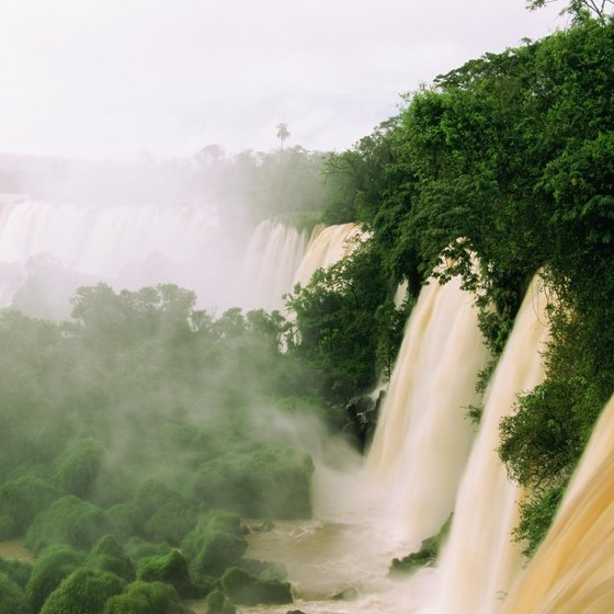 Iguazu Falls is the crown jewel of South America's many waterfalls.