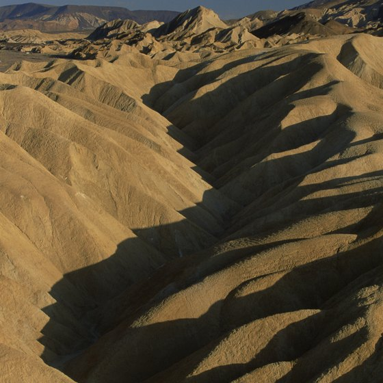 Rugged terrain and hot climates make Death Valley a unique American national park.