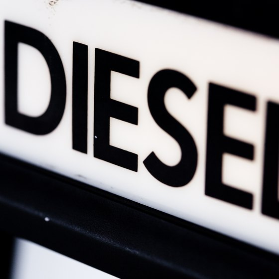 A diesel car saves money on fuel in the Dominican Republic.
