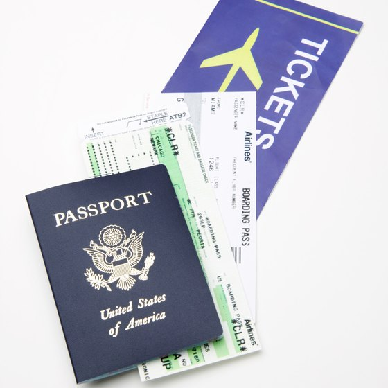 If you are staying for a short time, your passport is all you need.