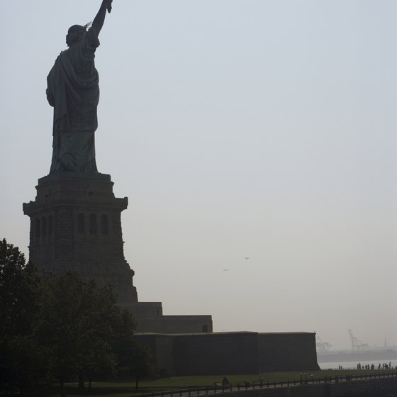 The Statue of Liberty remains a favorite New York tourist attraction.