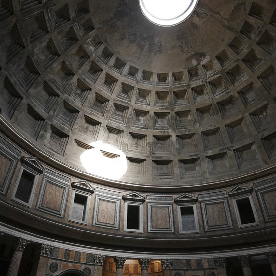 Visiting the Pantheon won't cost a cent.