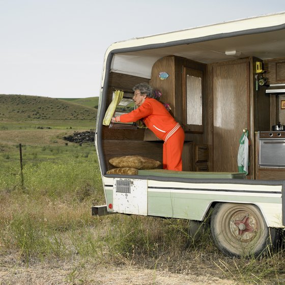 A DIY trailer can be elaborate or simple.
