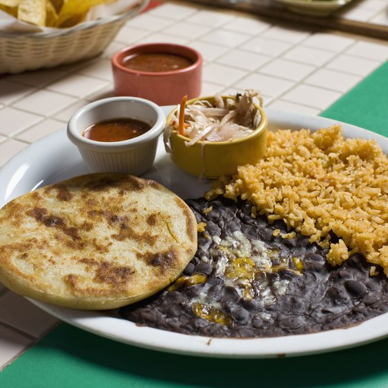 Rice and beans play a key role in Peruvian cuisine.