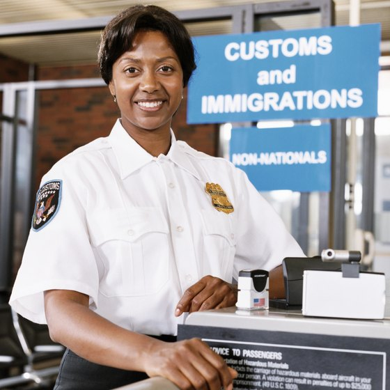 Visitors must pass through customs when entering and leaving the Bahamas.