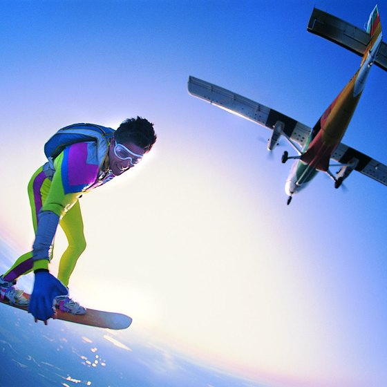 Practitioners of multiple skydiving disciplines call Westside Skydivers their home DZ.