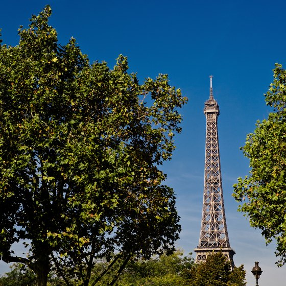 Paris is a popular stop on rail tours of Europe.