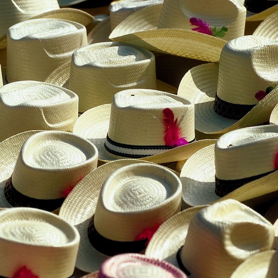 Panama is famous for its hats and the canal between the Atlantic and Pacific oceans.