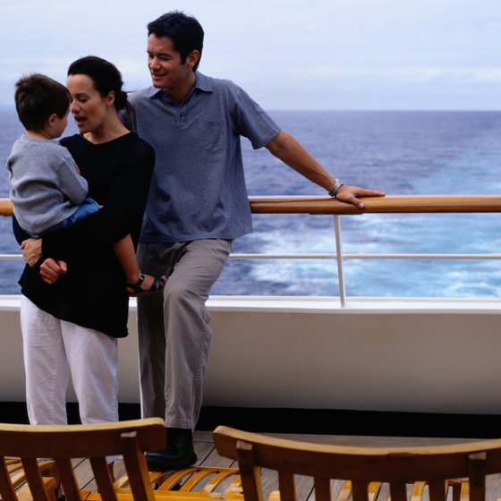 Cruising with the family is a great way to relax.