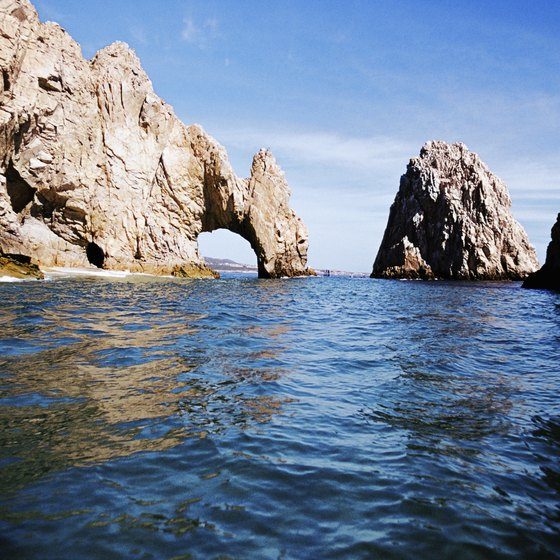 Low seasons for visiting Mexican beaches such as Cabo often involve bad weather.