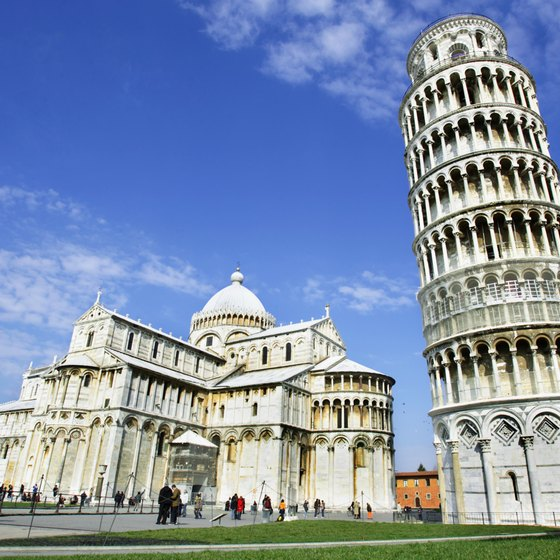 Many tourists get a laugh out of the Leaning Tower of Pisa.