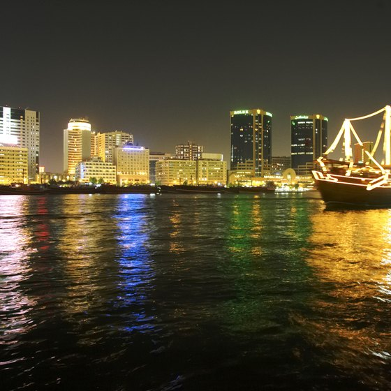 Visitors can catch this view of Deira from Bur Dubai on the other side of Dubai Creek.