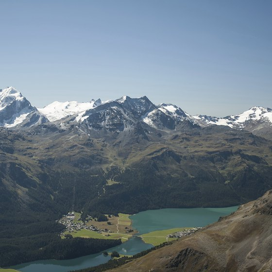 St. Moritz is famous for its style and scenery.