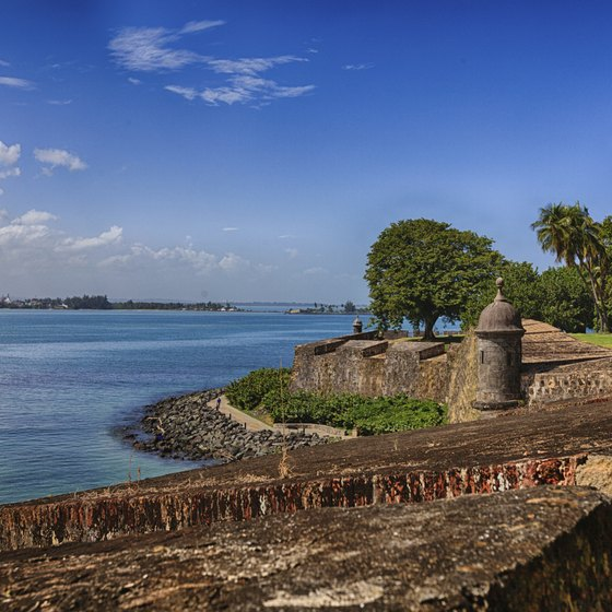 Enjoy views of San Juan Bay from the capital of Puerto Rico.