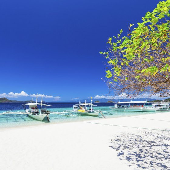The island of Boracay offers plenty of opportunities to socialize.
