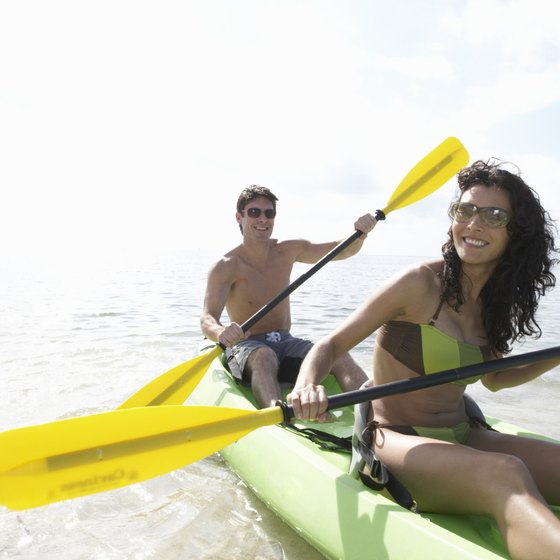 Campgrounds in Fort Myers are near canoeing and kayaking opportunities.