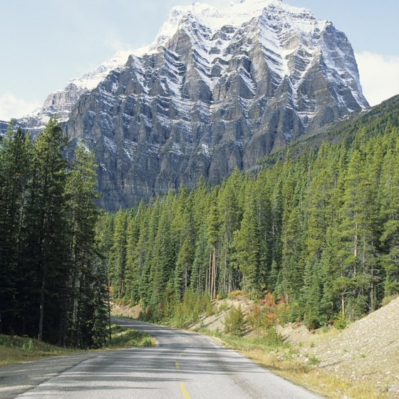 The Rocky Mountains are one of Canada's best-known geographic landmarks.