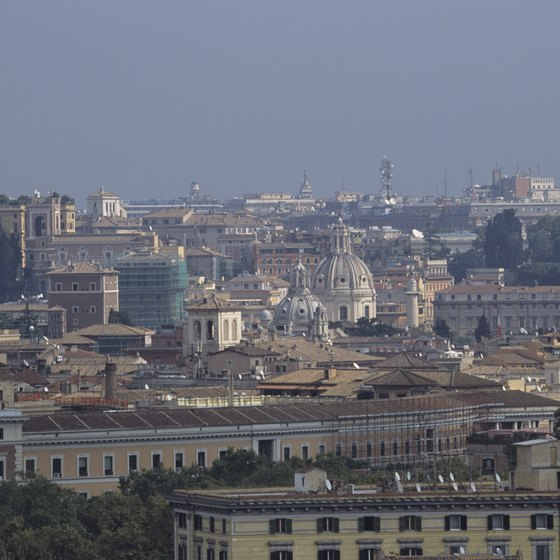 Rome's FR1 train provides regular service from Fiumicino Airport to the city.