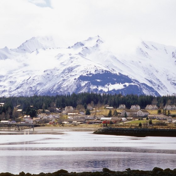 Breathtaking scenery surrounds Haines.