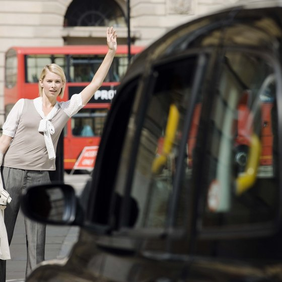 Take a black cab for a fast and informative ride to your London destination.