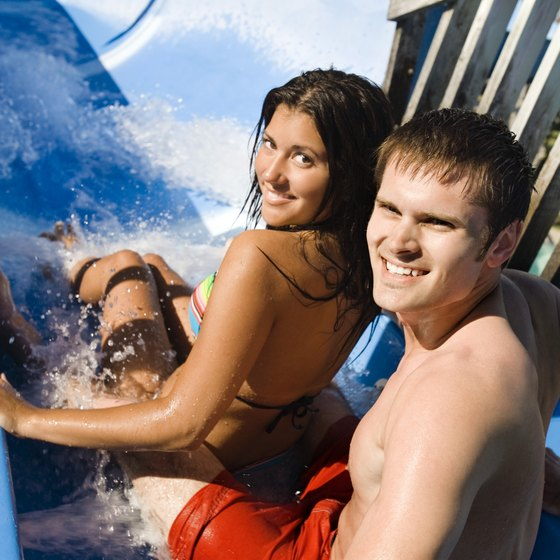 A correctly fitting bathing suit will keep you comfortable during your water park visit.