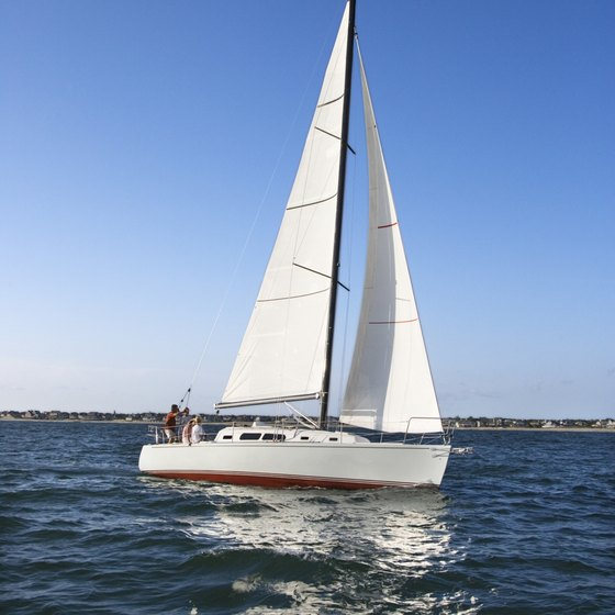 Enjoy sailing one of South Carolina's 14 lakes.