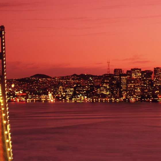 San Francisco dresses up for Christmas and puts on events through the season.